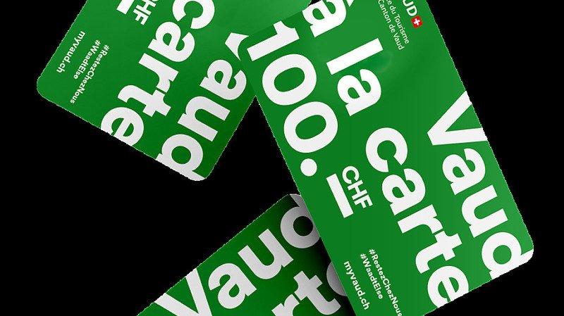 Vaud: des cartes prépayées offertes pour encourager le tourisme