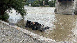 Accident de travail: chute mortelle dans le Rhin à Stein (AG)