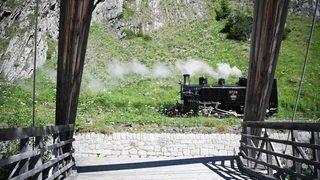 Le train à vapeur de la Furka a repris du service