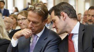 Affaire Maudet: convaincu que Maudet sera évincé du PLR, Lüscher lui redemande de démissionner