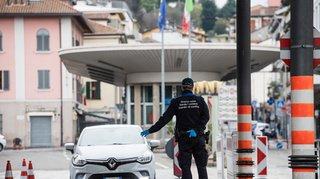 Coronavirus: le trafic est stable après l'ouverture de la frontière italienne
