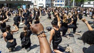 Antiracisme: quelques centaines de manifestants mobilisés en Suisse