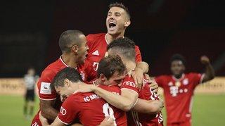 Football - Coupe d'Allemagne: le Bayern remporte sa 20e Coupe d'Allemagne et réussit le doublé
