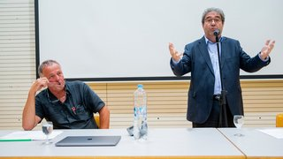 Président des vignerons suisse, Frédéric Borloz, a fait face à sa base en colère
