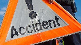 Crans: une collision entre une moto et une voiture fait un blessé
