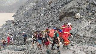 Birmanie: plus de 160 morts dans un glissement de terrain dans des mines