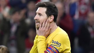 Football: Messi légèrement touché