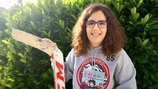 Gardienne de Forward Morges, elle crée une BD sur le hockey