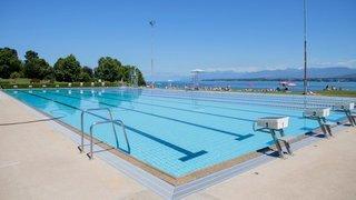 Nyon: la piscine de Colovray rouvre sous condition