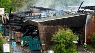 Déchetterie de Saint-Prex détruite par le feu: «On repart d'une feuille blanche»