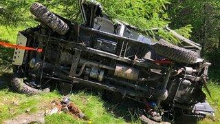Accident de la route: sortie de route mortelle pour un père de famille en Valais