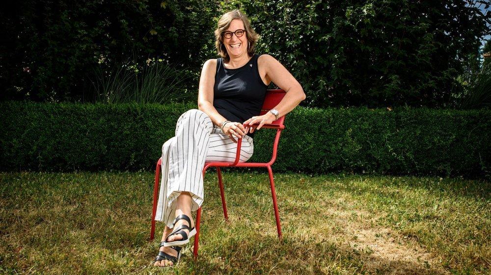 Laure Jaton s'est installée à Morges il y a vingt ans. Elle en sera la première citoyenne jusqu'à l'été prochain.