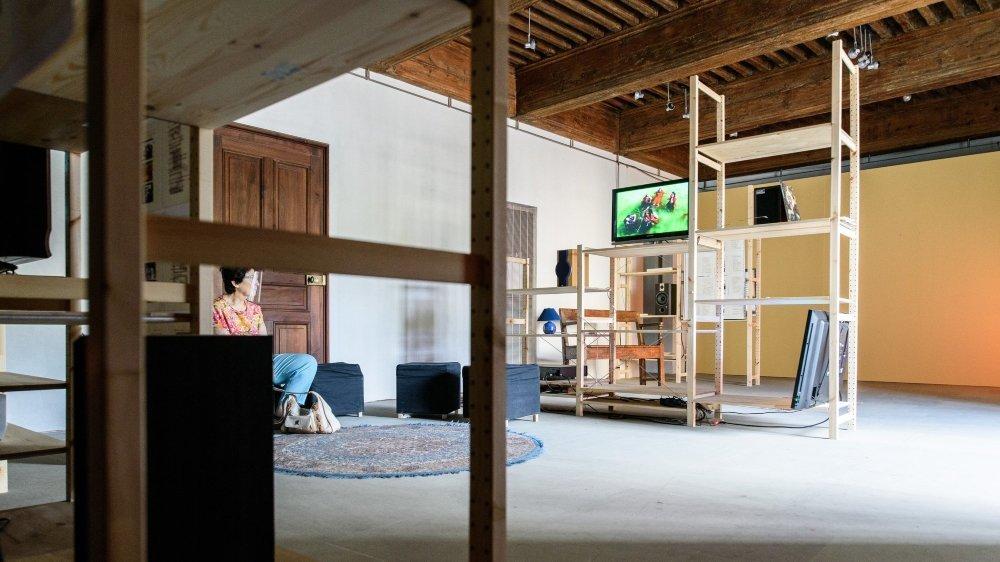 L'exposition de Jean-Luc Godard, un plus pour le château de Nyon.