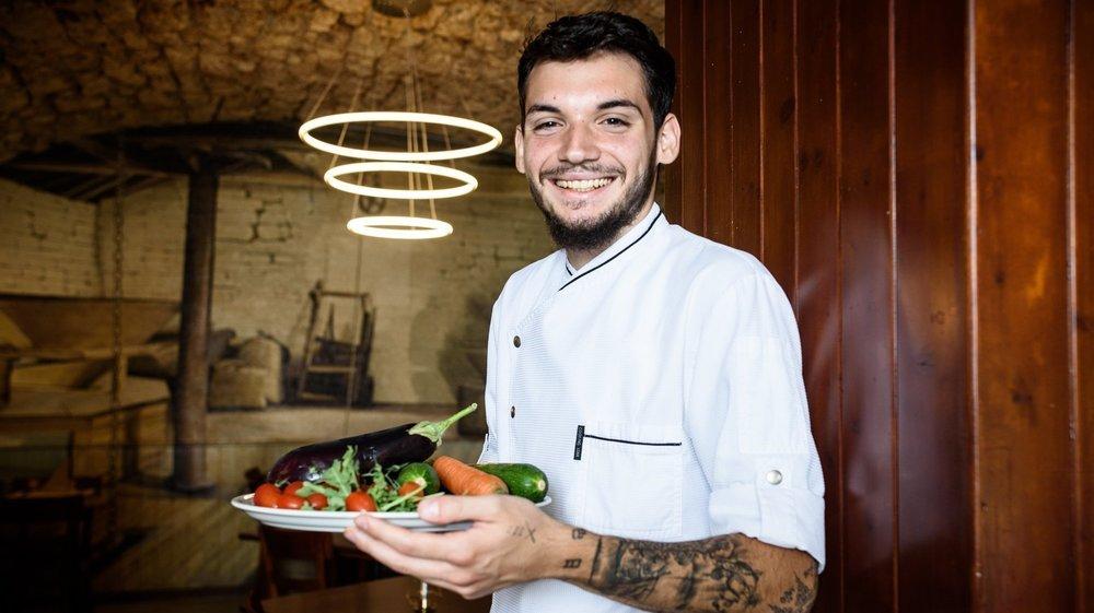 Sandro D'Agostino est le nouveau gérant du restaurant de La Cézille.