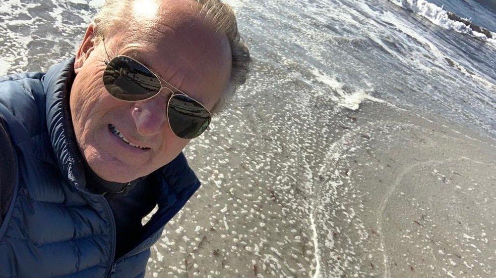 L'ancien patron et pilote de Solar Impulse André Borschberg, en vacances en Turquie en octobre 2019.