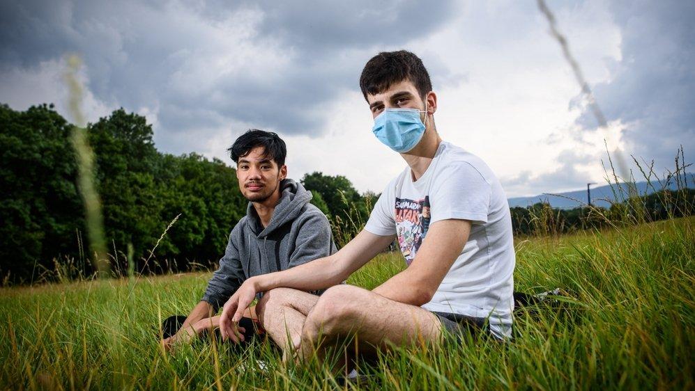 Elio et Miguel ont voulu voir à quoi ressemble le terrain sans Paléo.
