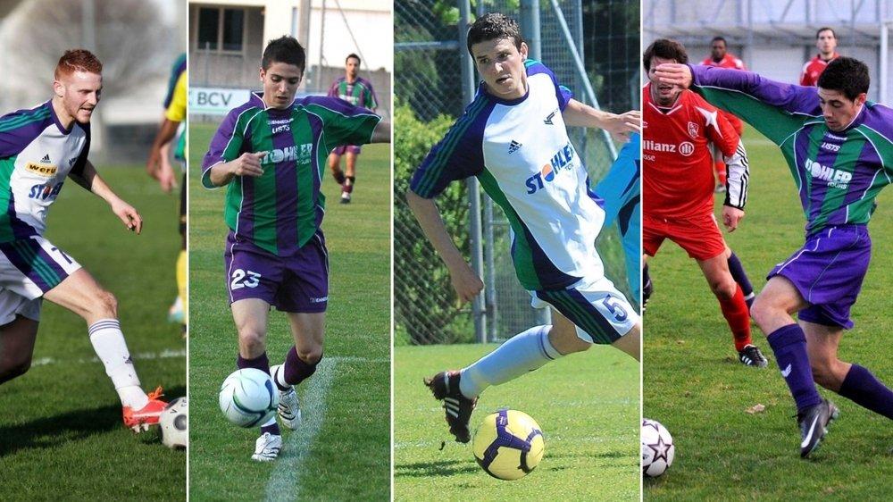 Les quatre footballeurs ont tout vécu ces dernières années sous les différents maillots de l'US Terre Sainte.