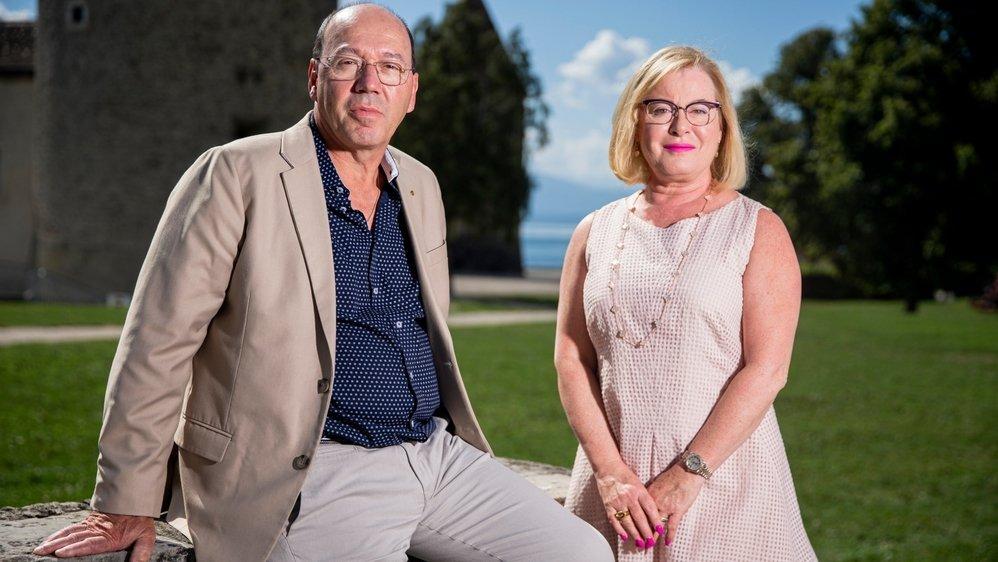 Pierre-André Romanens et Joséphine Byrne Garelli ont présenté, mardi à Rolle, un projet d'initiative populaire qui sera achevé ces prochains jours.