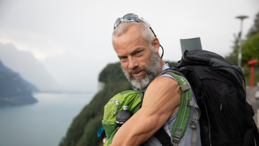Après trois semaines de marche, Yves Auberson vient de traverser le berceau de la Suisse.