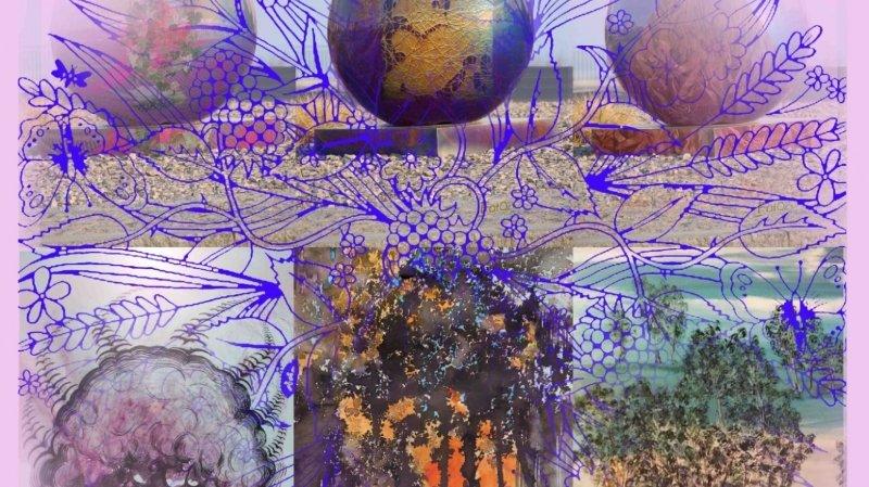 Nature et bouquet artistique