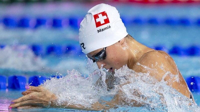Natation: Lisa Mamié établit un nouveau record de Suisse sur 100 m brasse à Rome