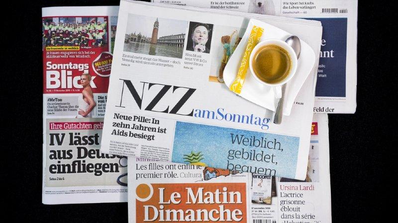 Revue de presse: le port du masque, des cantons jugés trop laxistes et l'appli Swiss-Covid… les titres de ce dimanche