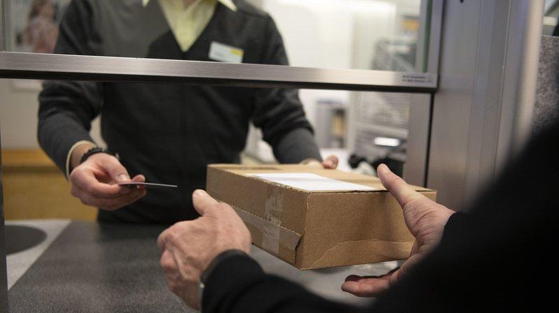 L'exportation de courrier depuis la Suisse a bien repris son cours. (Illustration)