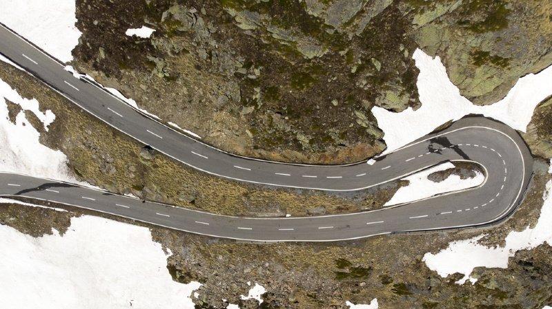 Le tronçon reliant Martigny au Grand-Saint-Bernard fait partie des «nouvelles» routes de la Confédération. (Archives)