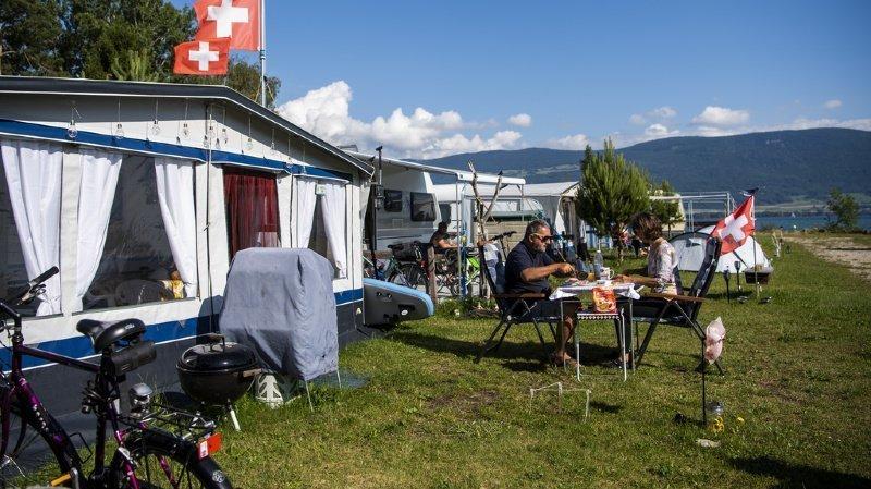 Coronavirus: la pandémie pourrait coûter 500'000 nuitées aux campings suisses