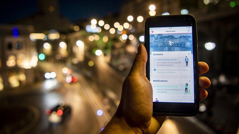SwissCovid: près de 330 cas positifs ont été annoncés sur l'app