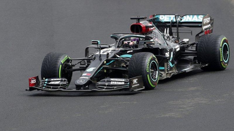 Formule 1 – GP de Hongrie: Lewis Hamilton, sans rival, remporte la course