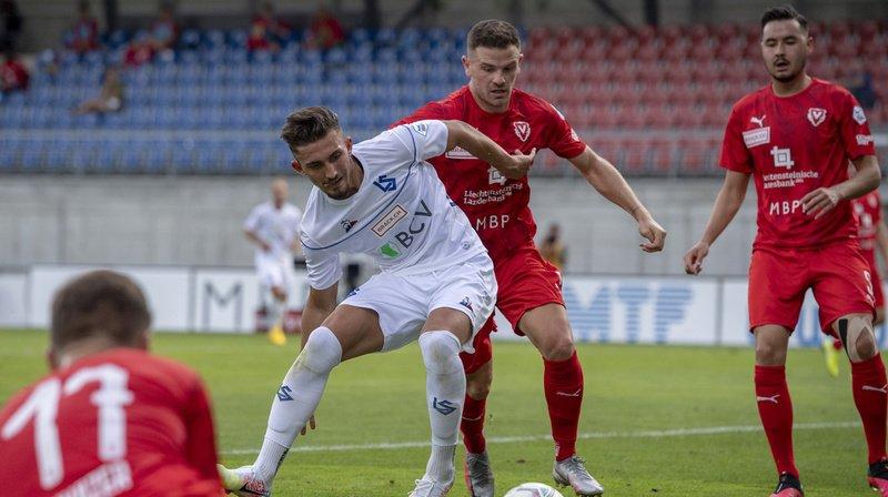 Football: Lausanne, battu à Vaduz, devra attendre avant de fêter la promotion