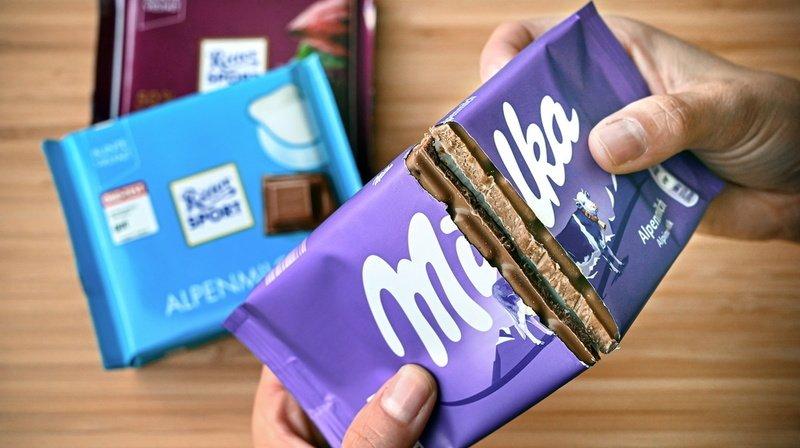 Chocolat: pourquoi Milka ne peut pas vendre de tablettes carrées
