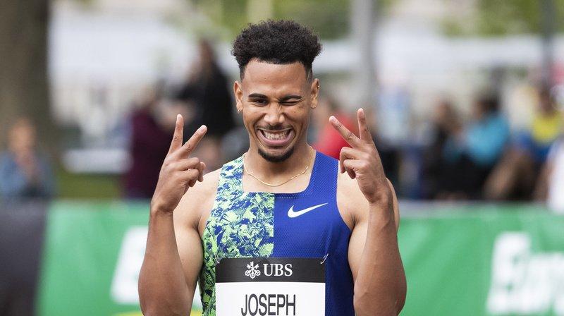 Jason Joseph a réalisé un temps de 13''34.