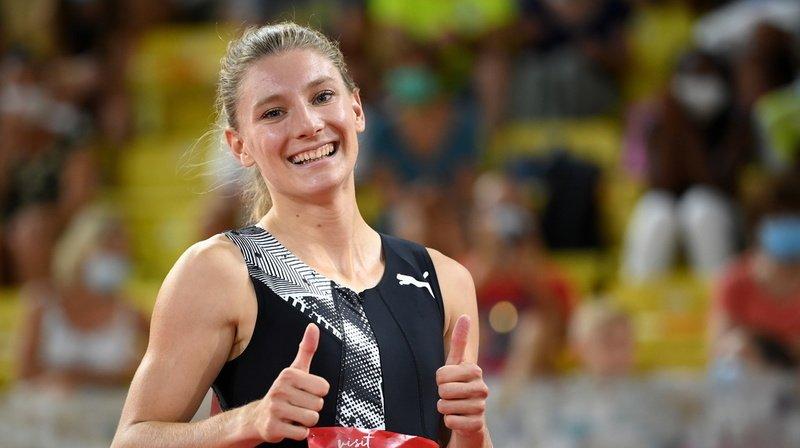Athlétisme: Ajla Del Ponte remporte le 100 m à Monaco