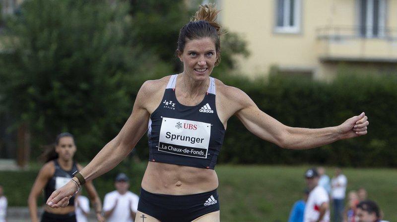 Lea Sprunger battue à La Chaux-de-Fonds, mais satisfaite