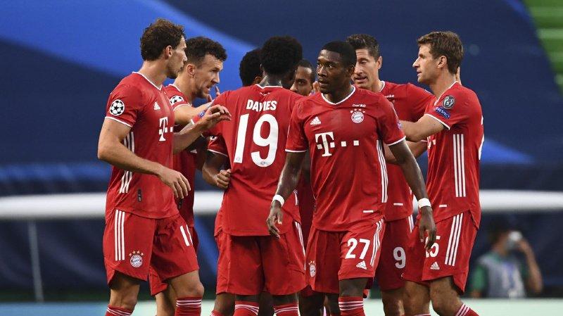 Football - Ligue des champions: le Bayern Munich bat Lyon et rejoint le PSG en finale