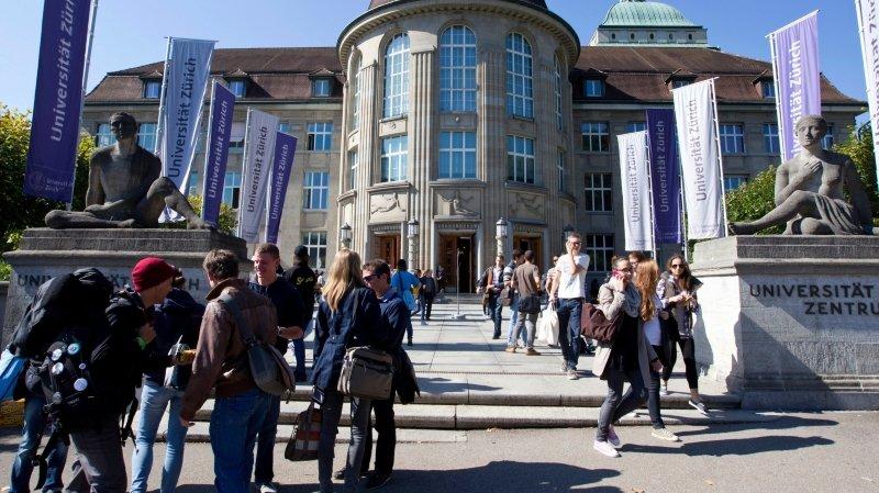 Université de Zurich: jusqu'à 4000 francs d'amende en cas de tricherie