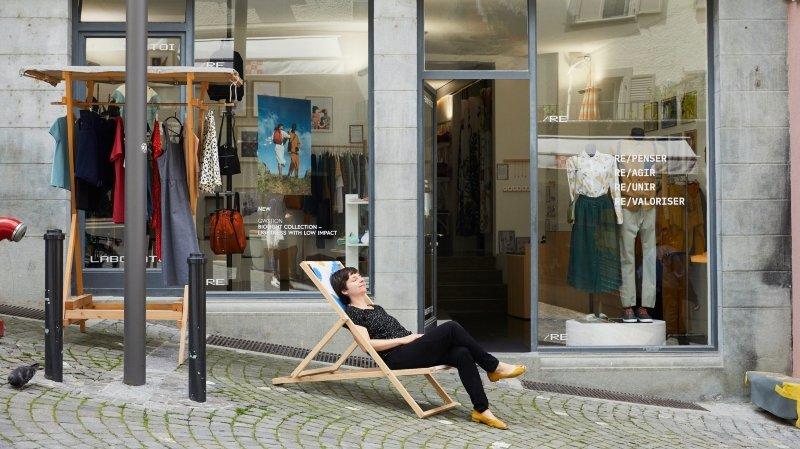 Lausanne: la marque de vêtements Laboratoire se met au vert