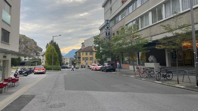 Valais: chute mortelle depuis la fenêtre d'une chambre d'hôtel à Sion