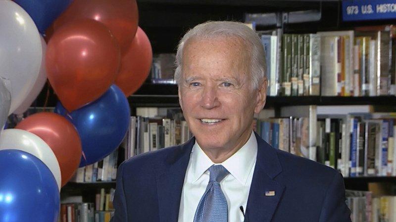 Présidentielle américaine: Joe Biden officiellement investi par les démocrates