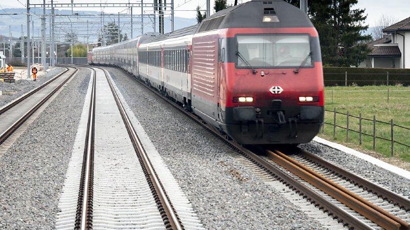 Coronavirus: fort impact de la pandémie sur le transport ferroviaire suisse