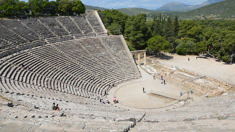 Grèce: un feu de forêt s'est déclaré près du théâtre d'Epidaure dans le Péloponnèse
