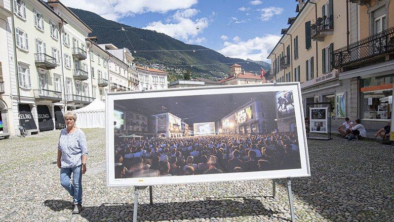 Cette année, la Piazza Grande à Locarno est restée vide à l'occasion du festival du film, qui a vécu une édition particulière.