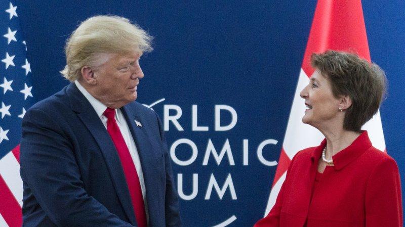 Fête nationale: Donald Trump félicite la Suisse
