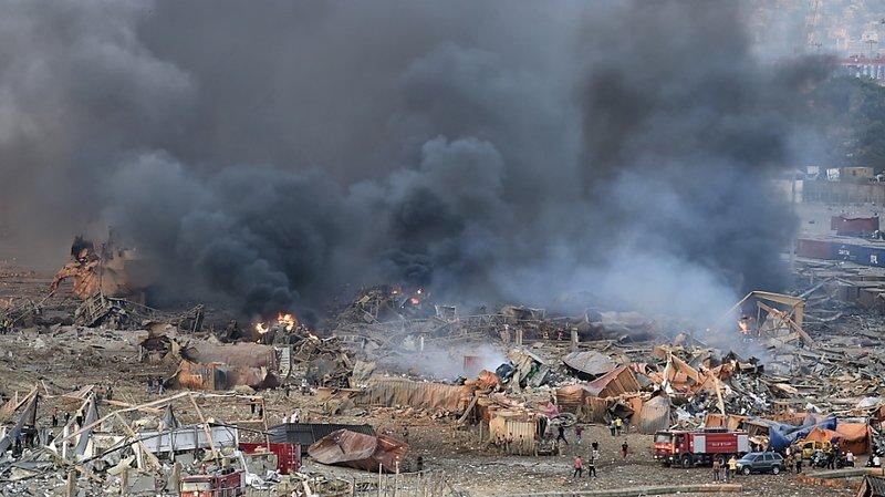 Le secteur du port a été bouclé par les forces de sécurité.