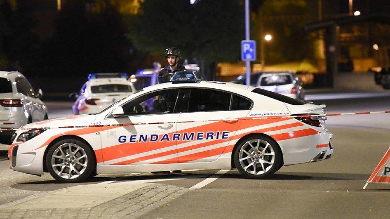Lausanne: coup de feu tiré par un policier lors d'une course-poursuite