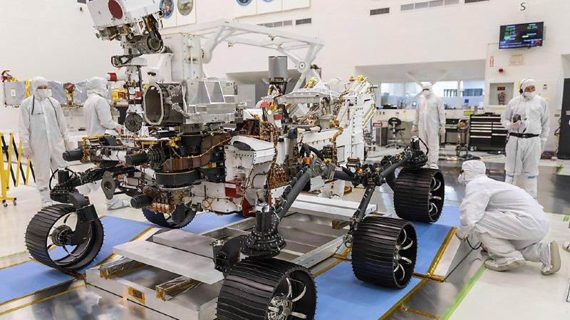 Espace: la NASA lancera le robot Perseverance vers Mars jeudi