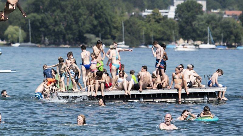 Météo: les 30 degrés ont été dépassés dans une grande partie de la Suisse