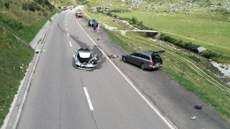 Carambolage au Gothard: plus de 3 millions de dégâts et une passagère grièvement blessée